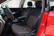 Фото 5 - Чехлы MW Brothers Seat Toledo Mk4 (2013-н.д), красная нить