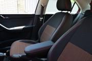 Фото 6 - Чехлы MW Brothers Seat Toledo Mk4 (2013-н.д), красная нить