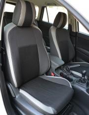MW Brothers Mazda CX-5 (2012-2014), светлые вставки + серая нить
