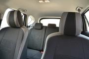 Фото 4 - Чехлы MW Brothers Mazda CX-5 (2012-2014), светлые вставки + серая нить