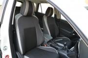Фото 8 - Чехлы MW Brothers Mazda CX-5 (2012-2014), светлые вставки + серая нить