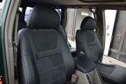 Фото 5 - Чехлы MW Brothers Nissan Patrol Y61 (рестайлинг) (2005-2013), серая нить