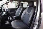 Фото 2 - Чехлы MW Brothers Renault Logan II MCV (2012-2014), серая нить