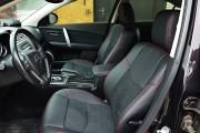 Фото 3 - Чехлы MW Brothers Mazda 6 II (2008-2012), красная нить