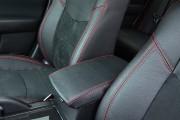 Фото 4 - Чехлы MW Brothers Mazda 6 II (2008-2012), красная нить