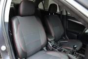 Фото 3 - Чехлы MW Brothers Mitsubishi Lancer X Sportback (2008-2012), красная нить