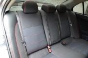 Фото 6 - Чехлы MW Brothers Mitsubishi Lancer X Sportback (2008-2012), красная нить
