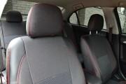 Фото 7 - Чехлы MW Brothers Mitsubishi Lancer X Sportback (2008-2012), красная нить