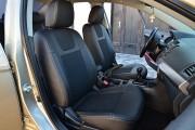 Фото 7 - Чехлы MW Brothers Mitsubishi Lancer X Sportback (2008-2012), серая нить