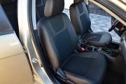 Фото 8 - Чехлы MW Brothers Mitsubishi Lancer X Sportback (2008-2012), серая нить