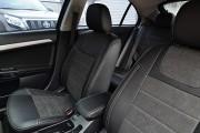 Фото 4 - Чехлы MW Brothers Mitsubishi Lancer X Sportback (2008-2012), серая нить