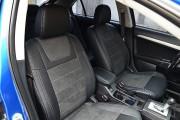 Фото 5 - Чехлы MW Brothers Mitsubishi Lancer X Sportback (2008-2012), серая нить