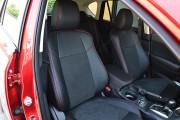 Фото 3 - Чехлы MW Brothers Mazda CX-5 (2015-2017) рестайлинг, красная нить