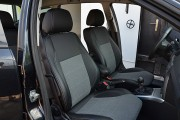 Фото 7 - Чехлы MW Brothers Opel Astra H Caravan (2004-2014), серая нить