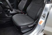 Фото 2 - Чехлы MW Brothers Volkswagen Polo sedan (2009-н.д.), серая нить