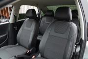 Фото 3 - Чехлы MW Brothers Volkswagen Polo sedan (2009-н.д.), серая нить