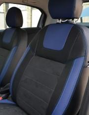 MW Brothers Peugeot 301 (2013-н.д.), синие вставки + синяя нить