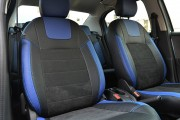 Фото 5 - Чехлы MW Brothers Peugeot 301 (2013-н.д.), синие вставки + синяя нить