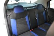Фото 6 - Чехлы MW Brothers Peugeot 301 (2013-н.д.), синие вставки + синяя нить