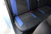 Фото 7 - Чехлы MW Brothers Peugeot 301 (2013-н.д.), синие вставки + синяя нить