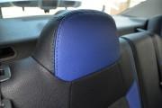Фото 8 - Чехлы MW Brothers Peugeot 301 (2013-н.д.), синие вставки + синяя нить
