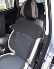 MW Brothers Subaru Forester IV (2013-2018), светлые вставки + серая нить