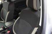 Фото 4 - Чехлы MW Brothers Subaru Forester IV (2013-н.д), светлые вставки + серая нить