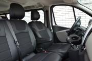Фото 7 - Чехлы MW Brothers Renault Trafic III (2014-н.д.) грузовой (1+2), серая нить