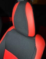 MW Brothers Toyota Yaris III (рестайлинг) (2015-н.д.), красные вставки + красная нить