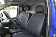 Фото 2 - Чехлы MW Brothers Mercedes-Benz Vito W639 (1+2) грузовой (2003-2014), синяя нить