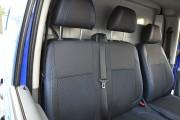 Фото 4 - Чехлы MW Brothers Mercedes-Benz Vito W639 (1+2) грузовой (2003-2014), синяя нить
