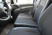 Фото 5 - Чехлы MW Brothers Mercedes-Benz Vito W639 (1+2) грузовой (2003-2014), синяя нить