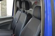 Фото 6 - Чехлы MW Brothers Mercedes-Benz Vito W639 (1+2) грузовой (2003-2014), синяя нить