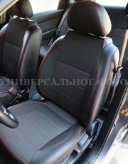 MW Brothers Mitsubishi Outlander XL (2006-2012), красная нить
