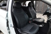 Фото 4 - Чехлы MW Brothers KIA Rio III sedan (2011-2017), серая нить
