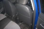 Фото 5 - Чехлы MW Brothers KIA Rio III sedan (2011-2017), синяя нить
