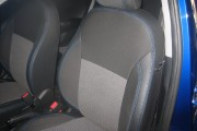 Фото 3 - Чехлы MW Brothers Hyundai Accent IV (Solaris) sedan (2011-2017), синяя нить