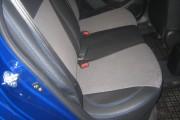 Фото 5 - Чехлы MW Brothers Hyundai Accent IV (Solaris) sedan (2011-2017), синяя нить