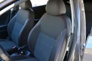 Фото 2 - Чехлы MW Brothers Hyundai Accent IV (Solaris) sedan (2011-2017), красная нить