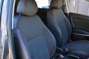 Фото 5 - Чехлы MW Brothers Hyundai Accent IV (Solaris) sedan (2011-2017), красная нить