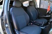Фото 8 - Чехлы MW Brothers Hyundai Accent IV (Solaris) sedan (2011-2017), красная нить
