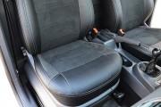 Фото 7 - Чехлы MW Brothers Volkswagen Caddy III Casten (1+1) (2004-2015), серая нить