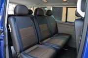 Фото 3 - Чехлы MW Brothers Volkswagen T5 Caravelle (2000-2010) пассажир (8 мест), серая нить