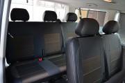 Фото 5 - Чехлы MW Brothers Volkswagen T5 Caravelle (2000-2010) пассажир (8 мест), серая нить