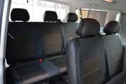 Фото 5 - Чехлы MW Brothers Volkswagen T5 Caravelle рестайлинг (2010-2015) пассажир (8 мест), серая нить