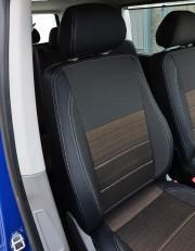 MW Brothers Volkswagen T6 Caravelle (2015-н.д.) пассажир (9 мест), серая нить