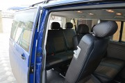 Фото 4 - Чехлы MW Brothers Volkswagen T6 Caravelle (2015-н.д.) пассажир (9 мест), серая нить