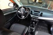 Фото 7 - Чехлы MW Brothers Mitsubishi Lancer X 2L (2007-2011), серая нить