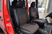 Фото 3 - Чехлы MW Brothers Fiat Doblo I Cargo (1+1) (2000-2016), красная нить