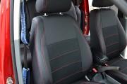 Фото 2 - Чехлы MW Brothers Volkswagen Caddy III (2004-2015), красная нить